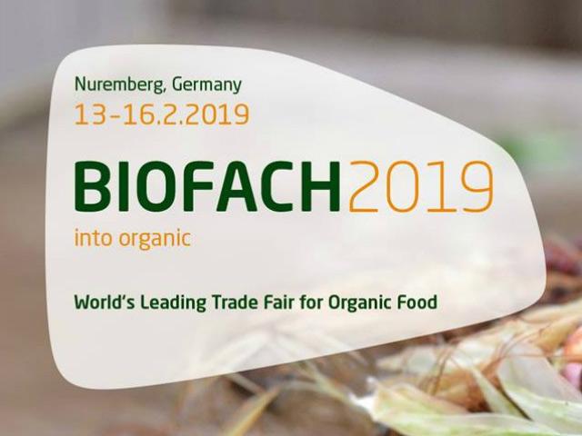 February 13 – 16. 2019 – BioFach, Nuremberg – Germany
